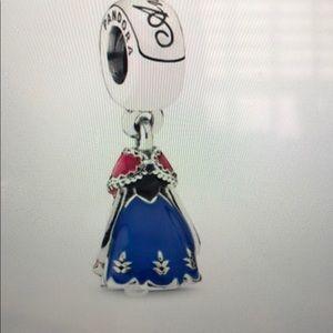 Pandora Disney Anna's Dress Dangle